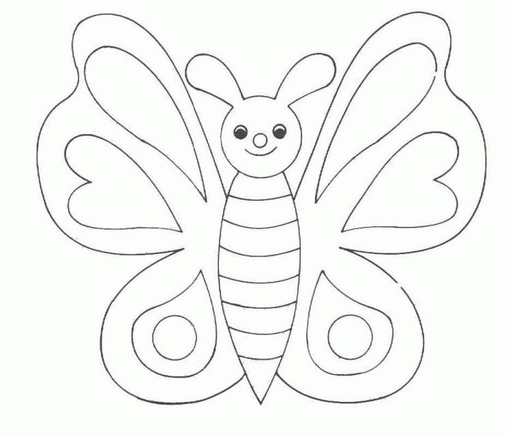 Nice Butterfly Coloring Page 71 coloring page Butterflies Butterflies