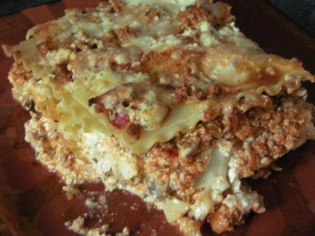Ground Turkey Lasagna