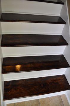 Best 25 redoing stairs ideas on pinterest redo stairs part k stairs risers and stairs repair - Refurbish stairs budget ...