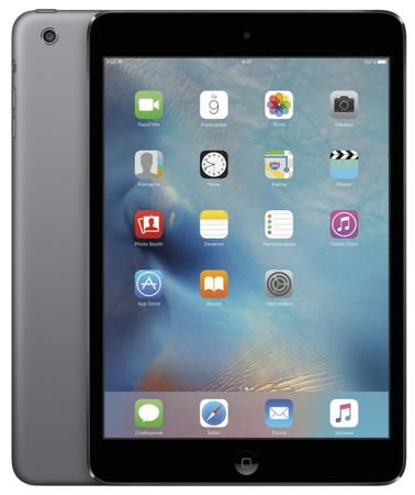 """Apple Apple iPad mini c дисплеем Retina 32Gb Wi-Fi ME277RU/A (7.9""""/2048x1536/WIFI/iOS 9)  — 22490 руб. —  Планшет Apple iPad mini c дисплеем Retina 32Gb Wi-Fi обзавелся сверхчетким дисплеем Retina, новым 64-битным процессором A7, передовыми беспроводными технологиями и мощными приложениями, встроенными в переосмысленную iOS 9. И остался мини. Его толщина – всего 0,74 см, а вес – чуть больше трехсот грамм. Теперь в ультракомпактном корпусе, который легко удержать одной рукой, еще больше…"""