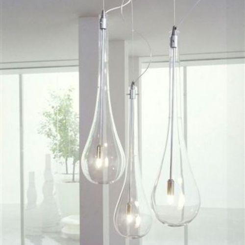 Hängelampe / modern / Glas / für Badezimmer SPLASH Arlexitalia