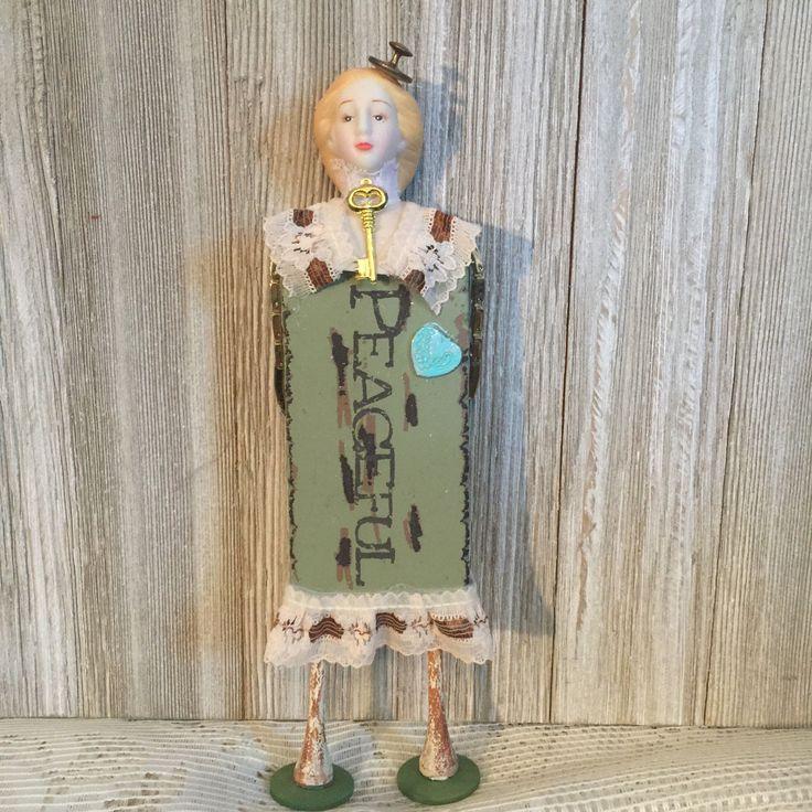 Peacefull Oddity Curiosity Unusual Vintage Victorian Ooak Doll   eBay