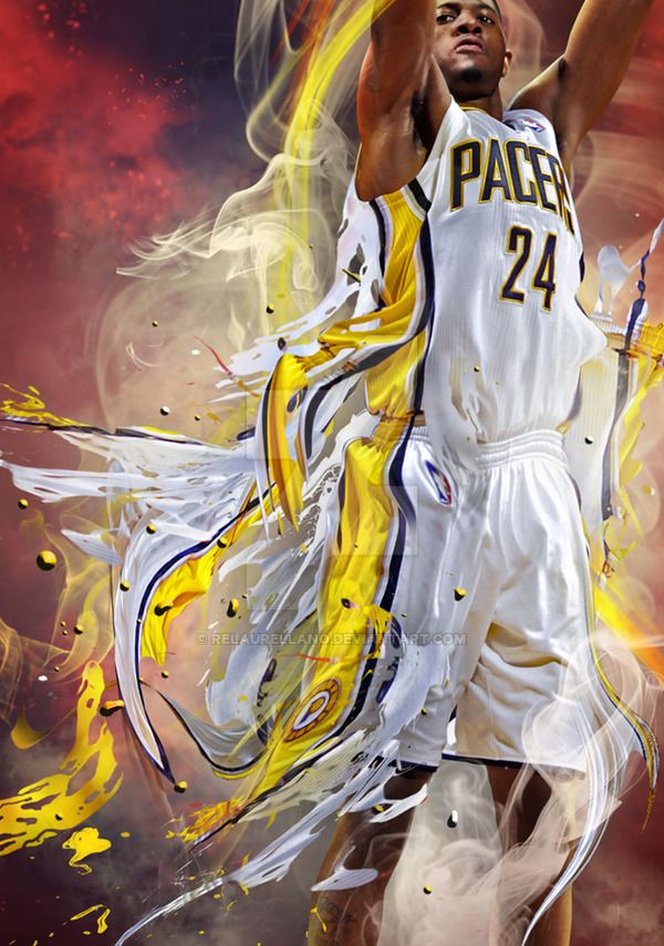 Indiana Pacers | Paul George, Fan Art