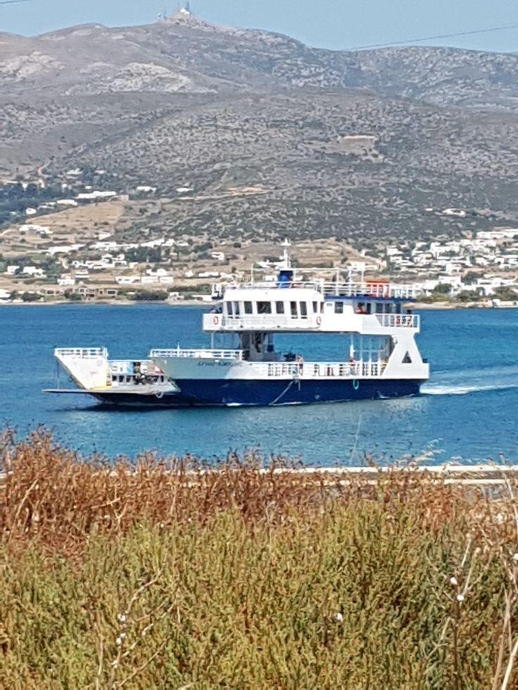 Ferry from Pounta to Anti- paros