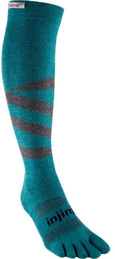 Injinji Snow Midweight Compression Over the Calf Socks