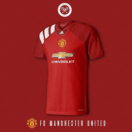 ae3f0b39f26 Should Adidas go full 90s retro with the Manchester United 18-19 kits