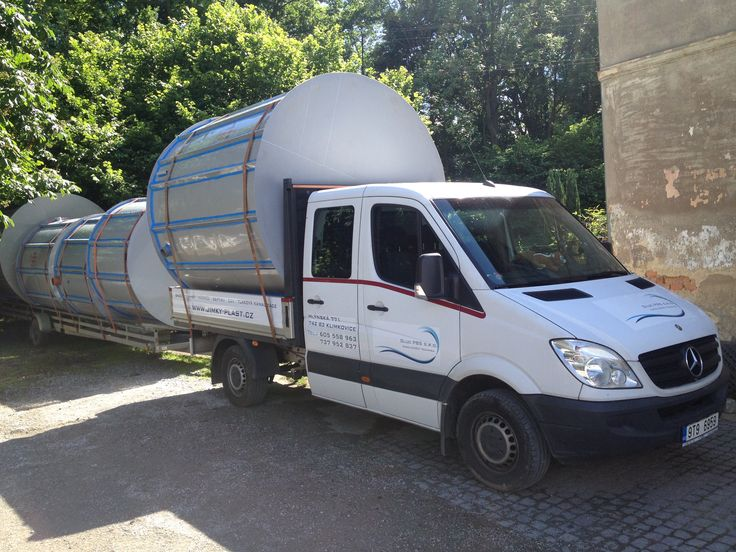 Odvoz nádrží na dešťovou vodu