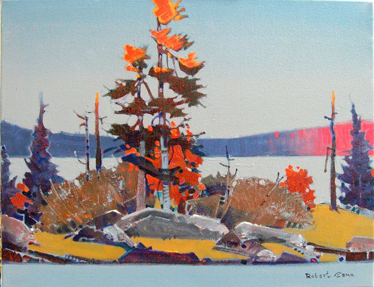 Robert Genn, 'Late Light on Storm Islet, LOTW' at Mayberry Fine Art