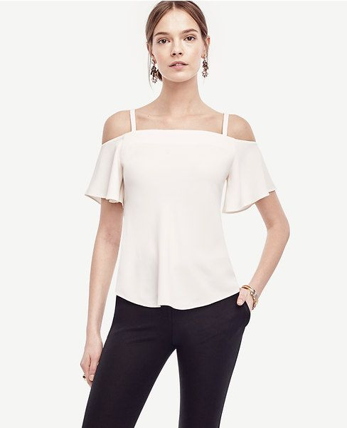 Primary Image of Strappy Off The Shoulder Top
