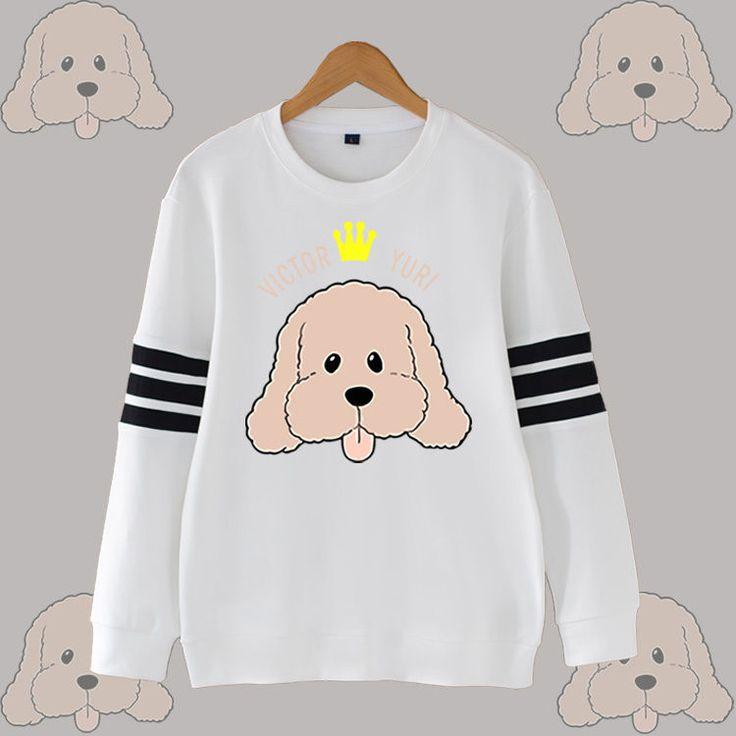 Anime YURI!!! on ICE Victor Nikiforov Dog Hoodie Coat Sweatshirt Hedging Sweater | Clothing, Shoes & Accessories, Unisex Clothing, Shoes & Accs, Unisex Adult Clothing | eBay!