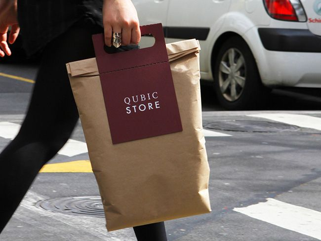 Packaging of the World: Creative Package Design Archive and Gallery: Qubic Store (Concept)