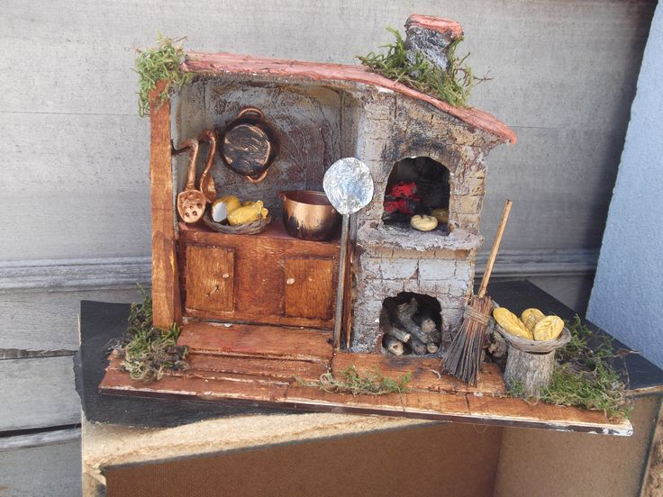 137 best creche scenes images on Pinterest   Miniatures, Dioramas ...