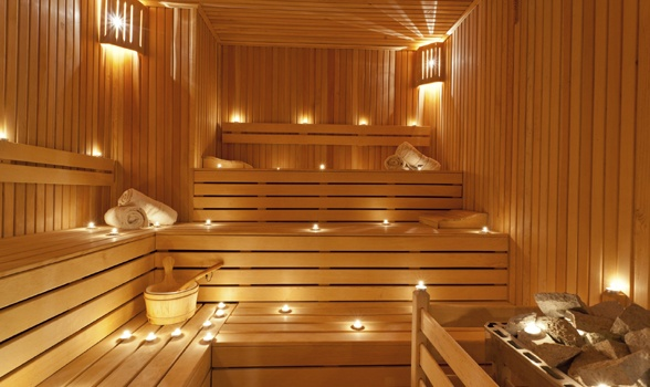 Rest, relax, and unwind in your little slice of sauna paradise.