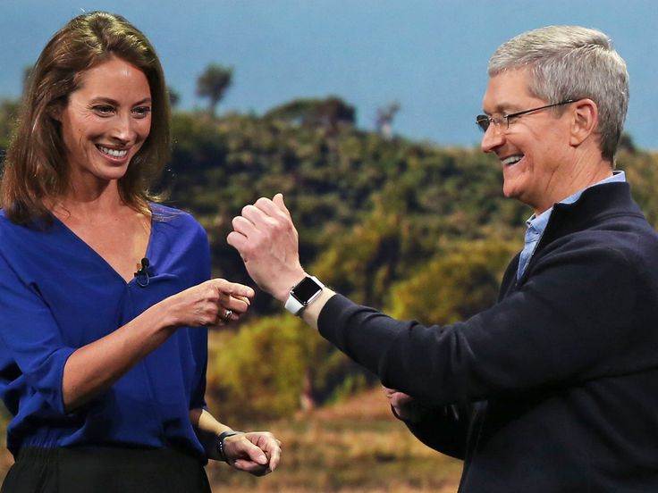 Apple CEO suggests new medical product could be in company's future.