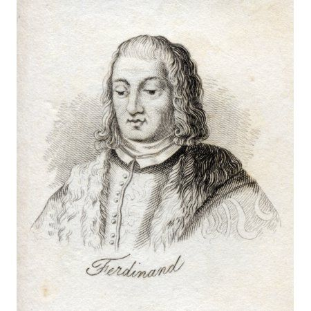 Ferdinand V Called The Catholic 1452-1516 King Of Castile As Ferdinand Ii Also King Of Sicily And Of Aragn As Ferdinand Iii King Of Naples From The Book Crabbs Historical Dictionary Published 1825