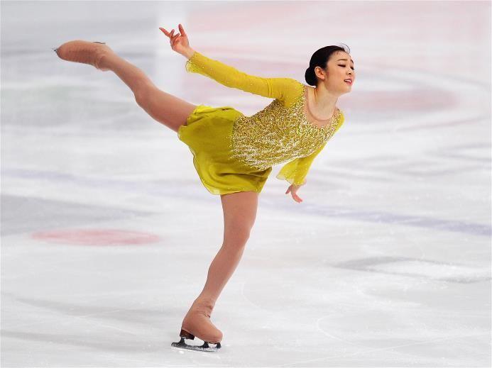 76 best ice skating images on pinterest ice dance figure favorite figure skater kim yuna olympic champion kim yu na is not afraid of voltagebd Gallery