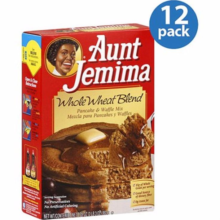 Baking Mixes 62695: Aunt Jemima Whole Wheat Blend Pancake And Waffle Mix, 35 Oz, (Pack Of 12) -> BUY IT NOW ONLY: $65.61 on eBay!
