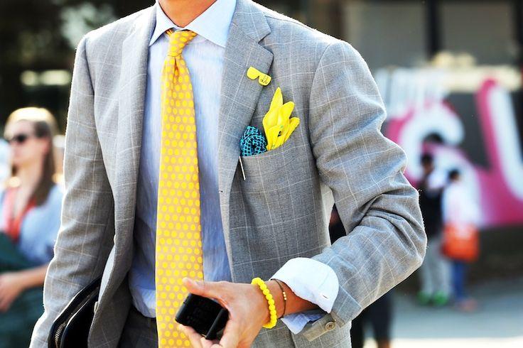 Polkadot tie (via Streetfsn)