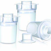 Contenitori individuali per latte in polvere Nuby set da 3 pezzi