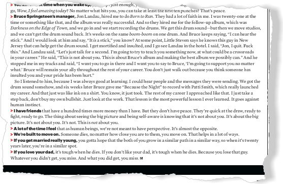 The Music Men: Jimmy Iovine, Make Everything Sound Better - clipped from page 75 of Esquire, Jan 2014 issue by the Netpage app.