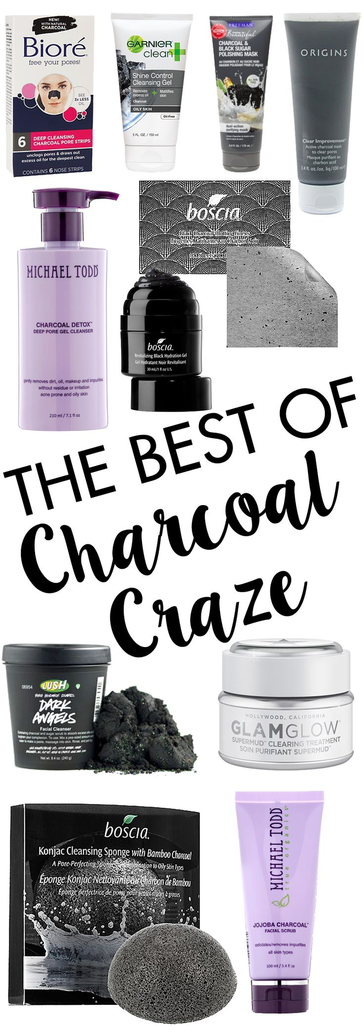 Charcoal Beauty Products | Hairspray and Highheels | Bloglovin'