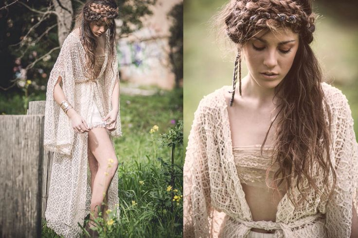 "Get closer to ""Leda "" lace crochet manteau by Nidodileda #free #freespirit #bohemian #nidodileda"