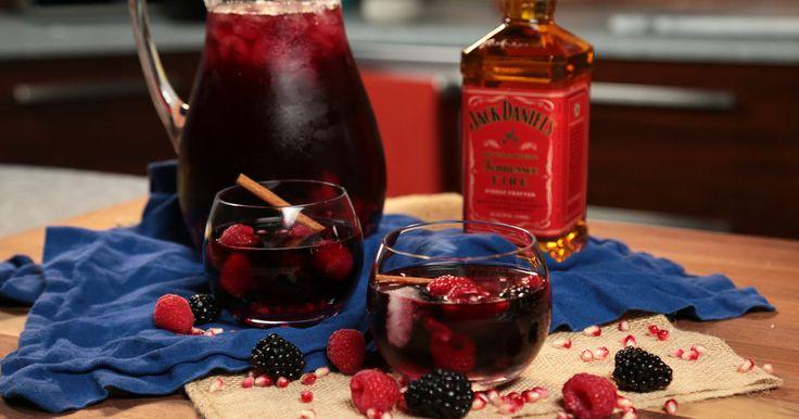 Jack Fire: Red Wine & Jack Fire Sangria - Thrillist