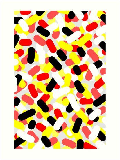 Disorder by Paucian Marius (mpabstractart); #art #abstract #color #prints #strokes