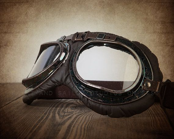 CHRISTMAS in JULY SALE Vintage Halcyon Style Motorcycle Goggles photo print, Decorating Ideas, Wall Decor, Wall Art,