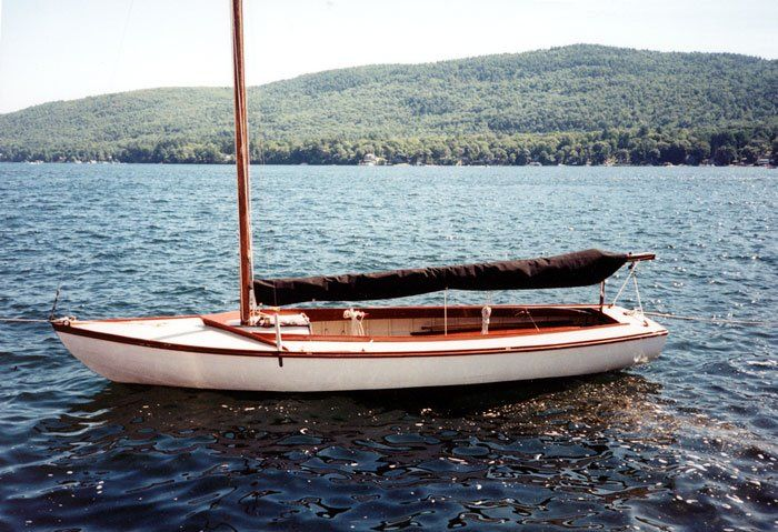 EMMY is a 1936 wooden Cape Cod Baby Knockabout (#51) built at Cape Cod Shipbuilding in Wareham ...