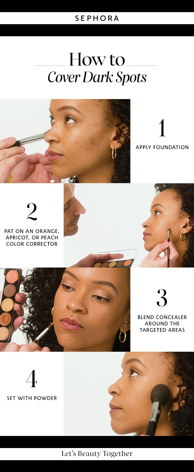 How To Hide Dark Spots On Face With Makeup Hairsjdi Org