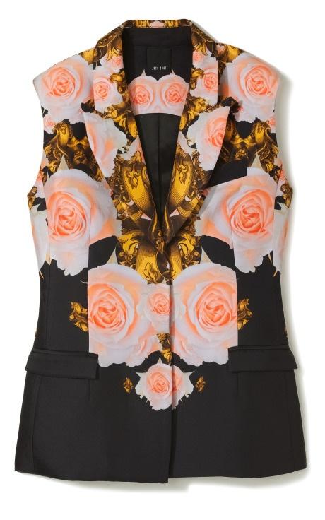 Floral Sleeveless Blazer #JoshGoot #r29summerstyle: Flower Bomb, Josh Goot, Fashion Looks Style, Goot Flower, Floral Sleeveless, Bomb Sleeveless, Blazer Joshgoot, Joshgoot R29Summerstyle