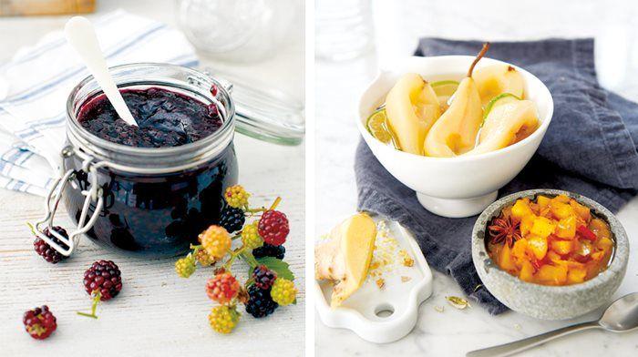 Sylta och safta – knep och recept! Björnbärssylt eller kanske inlagda päron – så kan du ta hand om sensommarens härliga frukt!