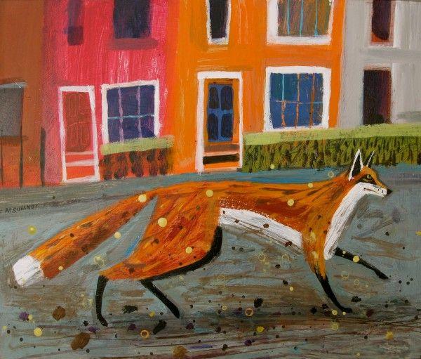 'Lewisham Fox' by Mary Sumner