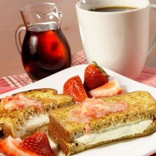 Healthy Breakfast Sandwich Recipe: Stuffed-French-Toast Sandwich - Shape Magazine