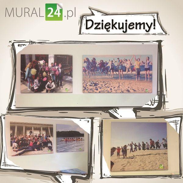 Takie miłe podziękowania od jednej z klas gimnazjum, dla której mieliśmy przyjemność drukować obrazy z Ich wspomnianiami z wyjazdu. Dziękujemy za podziękowania :)