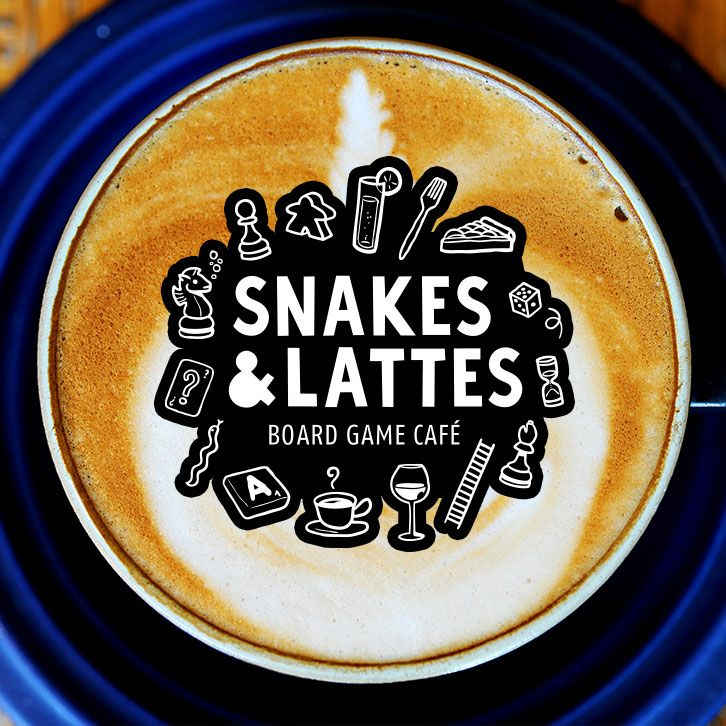 Snakes & Lattes Board Game Cafe - Play a Board with Friends and have a Coffee