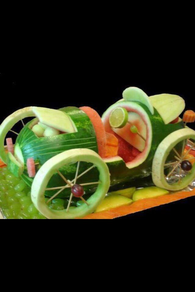 Watermelon Old car