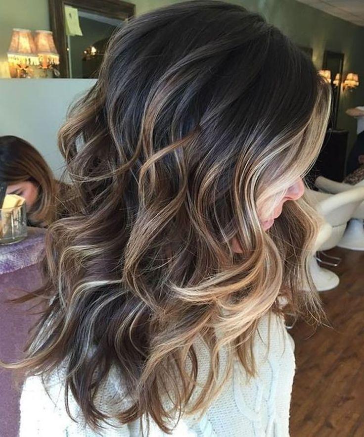 Balayage Haarfarben für Sommer Frisuren 2019 #haircolor #hairstyle #haarfarbe #frisuren