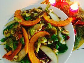 b.alive - the art of gourmet raw cuisine: Radicchio und Feldsalat mit Wurzelpetersilie im Apfelbalsamico