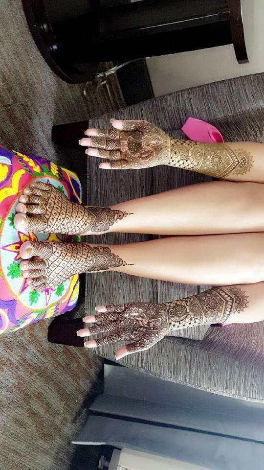 Manishas Mehendi Designs. 27 November 2016