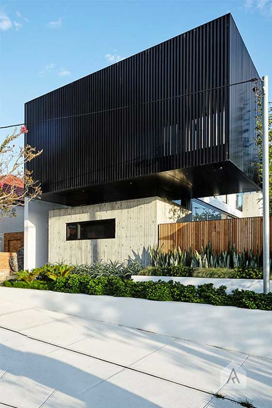 Leichhardt landscape design project. Photography Natalie Hunfalvay. Architect CDArchitects