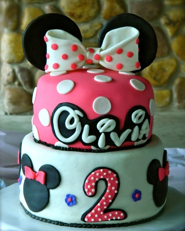 Minnie Mouse Cake: Birthday Parties, Parties Ideas, Disney Letters, 2Nd Birthday, Disney Cakes, Minnie Mouse Cakes, Baby Shower, Birthday Ideas, Birthday Cakes