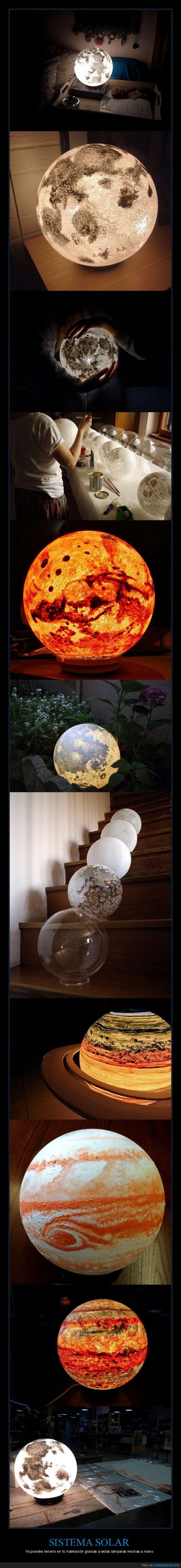 ¡Lo quiero! ¡Ahora! - Ya puedes tenerlo en tu habitación gracias a estas lámparas hechas a mano