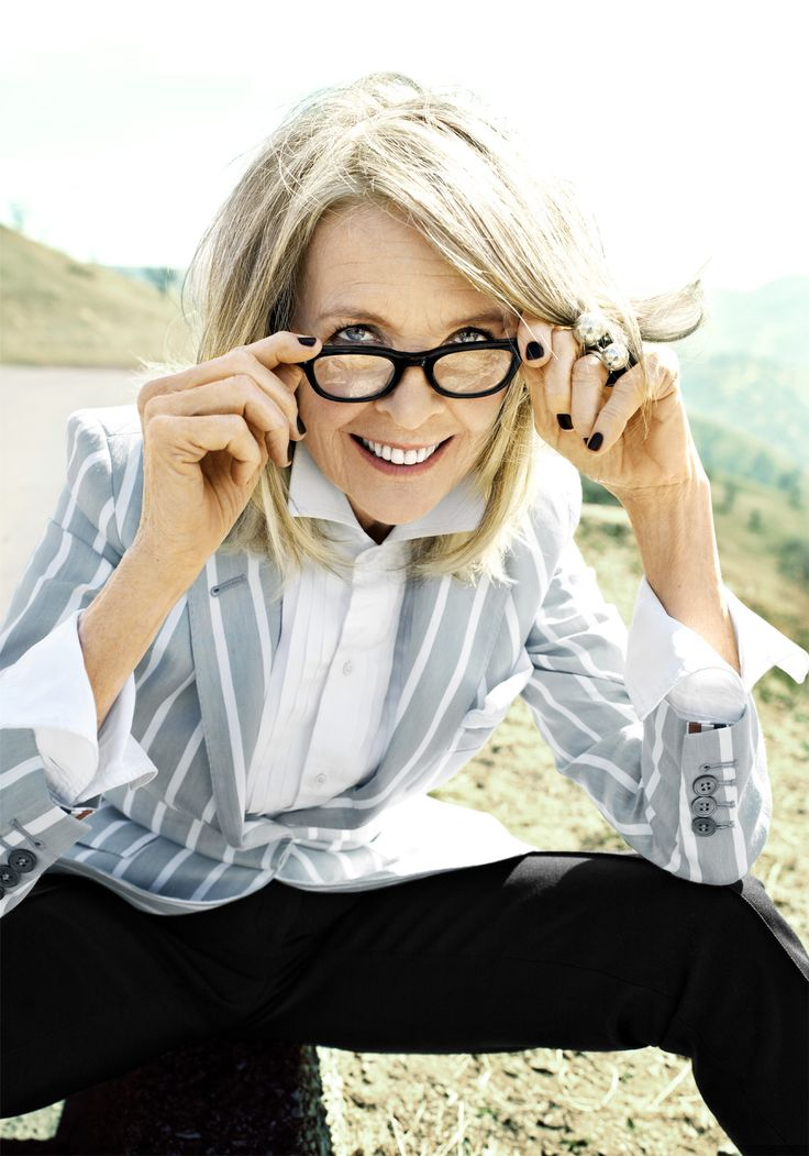 Diane Keaton, at age 69,  on the art of being yourself, May 2014, More Magazine