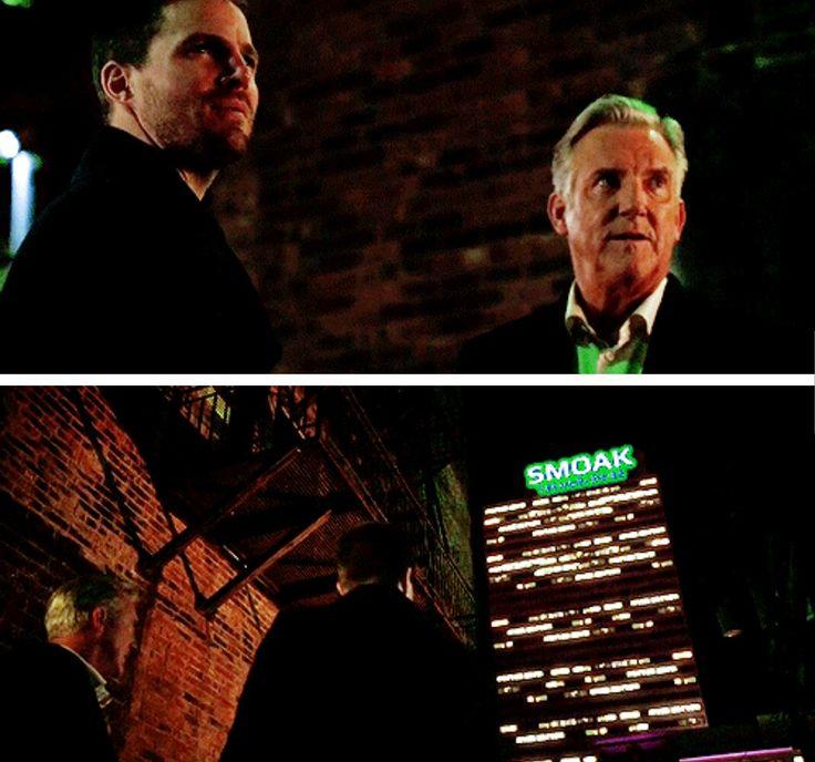 """#Arrow 5x08 """"Invasion"""" - Smoak Technologies! #OliverQueen #RobertQueen"""