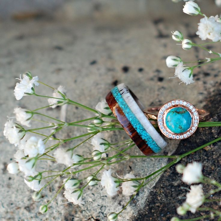 Ring Jordan likes. Staghead Designs | Wedding rings made from:Antler, Gold,Patina Copper,  Turquoise, Carbon Fiber, Leather,Titanium, Silver, Jade, Wood | Men's and  Woman's Custom Wedding Bands | WEAR AND BE WILD!