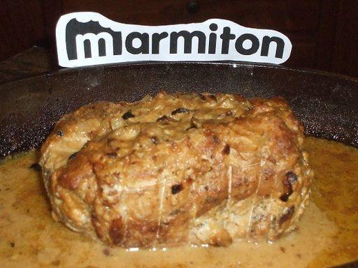 Rôti de porc de Dijon : Recette de Rôti de porc de Dijon - Marmiton