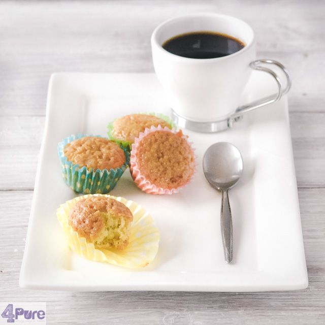 Sweet milk cupcakes  - English recipe - This recipe for sweet milk cupcakes gives delicious, slightly moist cupcakes that are made in no time (and) are gone in a second.