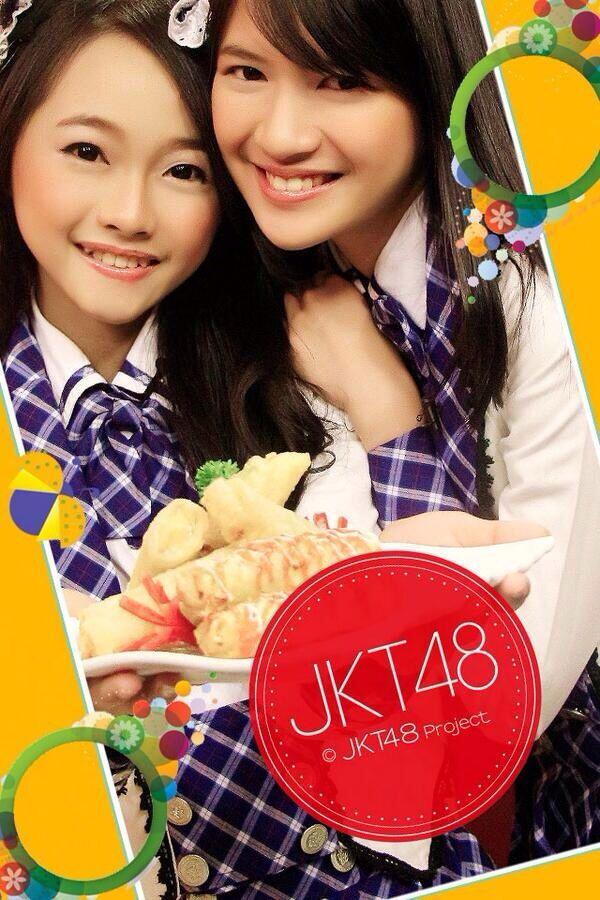 Rona Anggreani, Ratu Vienny Fitrilya #JKT48 #AKB48
